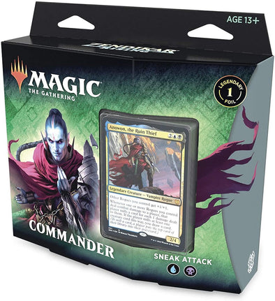 MTG - Zendikar Rising - Commander Deck - Sneak Attack - 401 Games