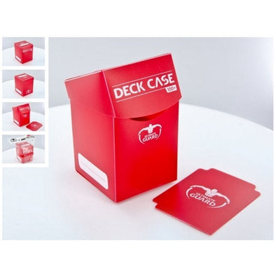Buy Ultimate Guard - Deck Case 100ct - Red and more Great Sleeves & Supplies Products at 401 Games