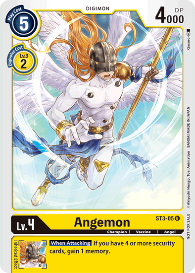 Angemon - Alternate Art (ST3-05)