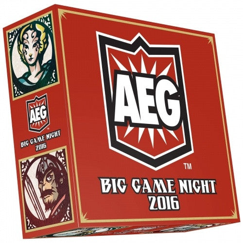 Buy AEG - Big Game Night 2016 and more Great Board Games Products at 401 Games
