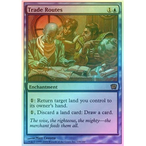 Trade Routes (Foil) available at 401 Games Canada