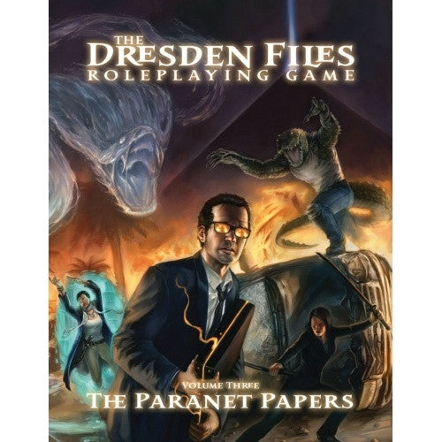 "The Dresden Files - Volume 3 ""The Paranet Papers"" - 401 Games"