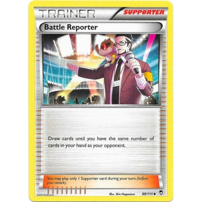 Buy Battle Reporter - 88/111 - Reverse Foil and more Great Pokemon Products at 401 Games
