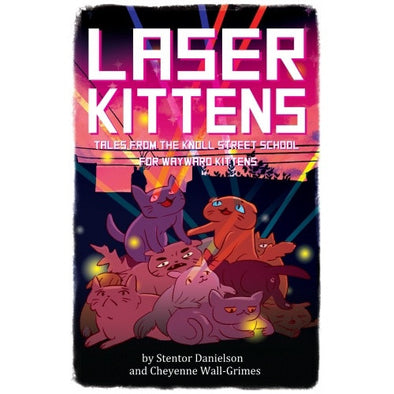 Laser Kittens - Core Rulebook - 401 Games