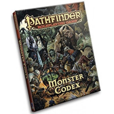 Pathfinder - Book - Monster Codex available at 401 Games Canada