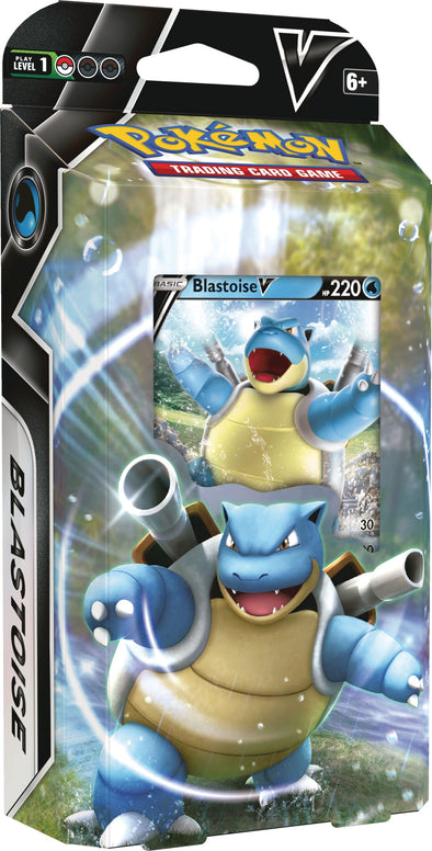 Pokemon - Battle Deck - Blastoise V (Pre-Order February 5th, 2021) available at 401 Games Canada