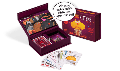 Buy Exploding Kittens - Party Pack and more Great Board Games Products at 401 Games