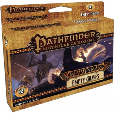 Buy Pathfinder Adventure Card Game - Mummy's Mask - Empty Graves Adventure Deck and more Great Board Games Products at 401 Games
