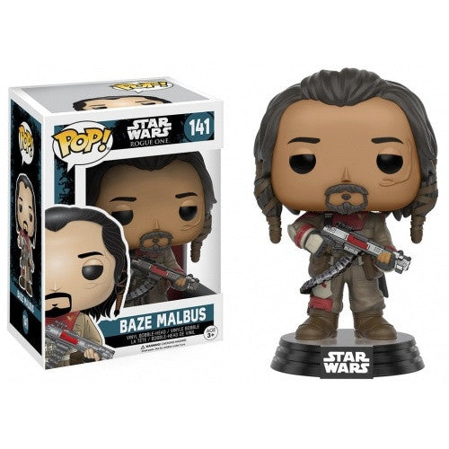 Buy Pop! Star Wars: Rogue One - Baze Malbus and more Great Funko & POP! Products at 401 Games
