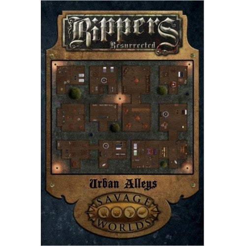 Savage Worlds - Rippers Resurrected: Urban Alleys - 401 Games