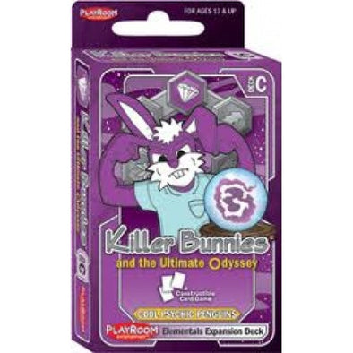Killer Bunnies & the Ultimate Odyssey: Cool Psychic Penguins - Elementals Expansion (no restock) available at 401 Games Canada