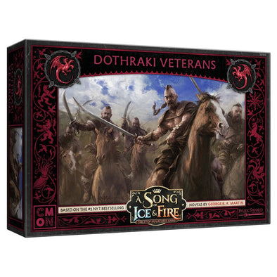 A Song of Ice and Fire - Tabletop Miniatures Game - House Targaryen - Dothraki Veterans (Pre-Order)
