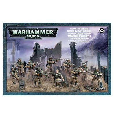 Buy Warhammer 40,000 - Astra Militarum - Cadian Infantry Squad and more Great Games Workshop Products at 401 Games
