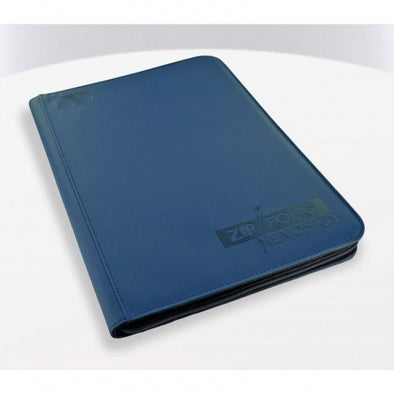 Buy Ultimate Guard - 9 Pocket Xenoskin Zipfolio - Blue and more Great Sleeves & Supplies Products at 401 Games