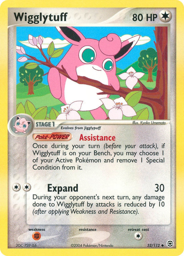 Wigglytuff - 52/112 (FRLG052) available at 401 Games Canada