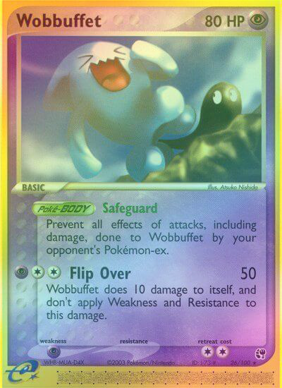 Wobbuffet - 26/100 - Reverse Foil (SST026R) available at 401 Games Canada