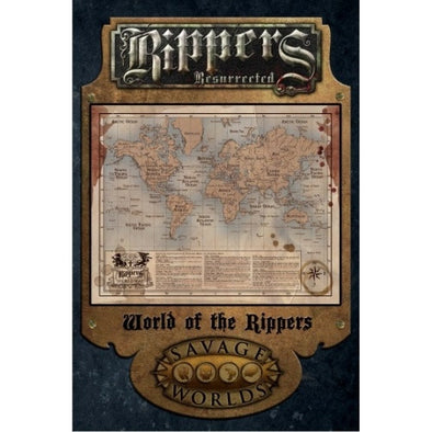 Savage Worlds - Rippers Resurrected: World of the Rippers available at 401 Games Canada