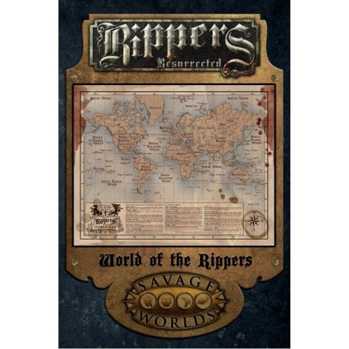 Savage Worlds - Rippers Resurrected: World of the Rippers - 401 Games