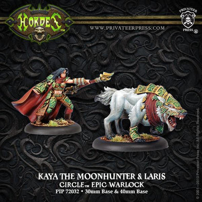 Hordes - Circle Orboros - Kaya the Moonhunter & Laris - 401 Games