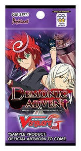 Cardfight!! Vanguard - GBT11 - Demonic Advent Booster Pack available at 401 Games Canada