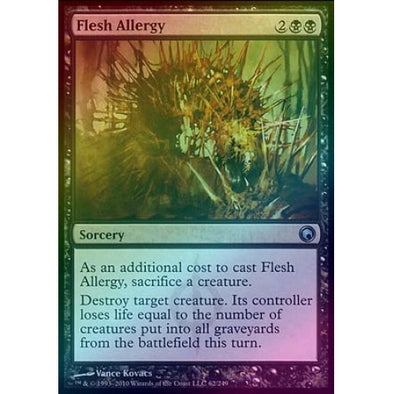 Flesh Allergy (Foil)