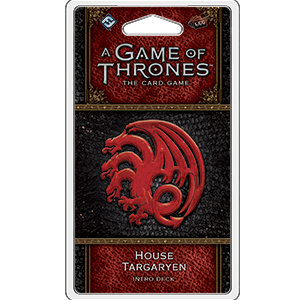 Buy Game of Thrones LCG - 2nd Edition - House Targaryen Intro Deck and more Great Board Games Products at 401 Games