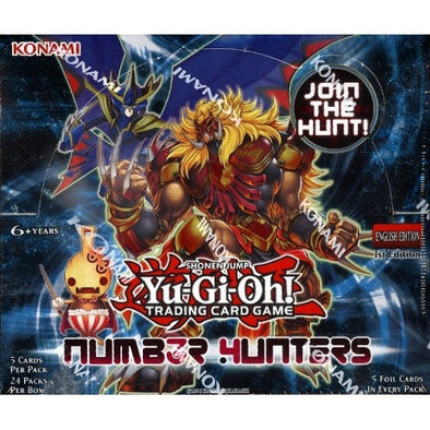 Buy Yugioh - Number Hunters - Booster Box and more Great Yugioh Products at 401 Games
