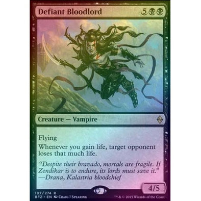 Defiant Bloodlord (Foil) (BFZ) available at 401 Games Canada