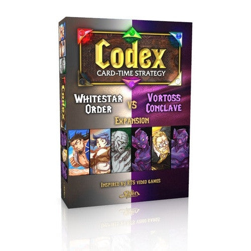 Codex: Card-Time Strategy - Whitestar Order vs Vortoss Conclave Expansion - 401 Games
