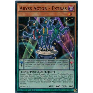 Abyss Actor - Extras - (Super Rare) available at 401 Games Canada
