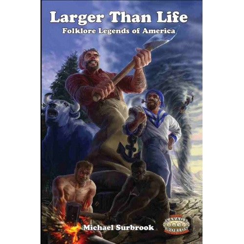Savage Worlds - Larger Than Life available at 401 Games Canada