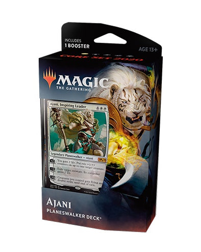 MTG - Core Set 2020 - Planeswalker Deck - Ajani - 401 Games