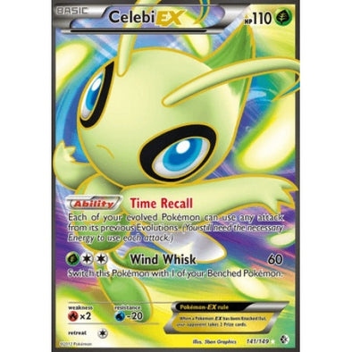 Buy Celebi-EX - 141/149 - Full Art and more Great Pokemon Products at 401 Games