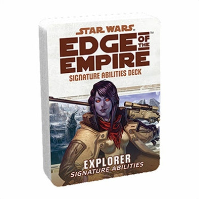 Star Wars: Edge of the Empire - Specialization Deck - Explorer Signature Abilities - 401 Games