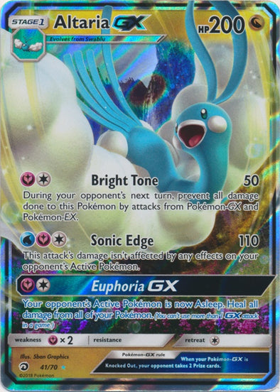 Buy Altaria-GX - 41/70 and more Great Pokemon Products at 401 Games