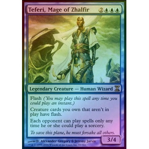 Teferi, Mage of Zhalfir (Foil) - 401 Games