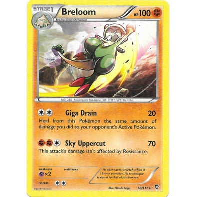 Buy Breloom - 50/111 - Reverse Foil and more Great Pokemon Products at 401 Games