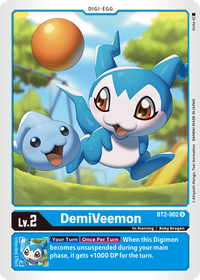 DemiVeemon (BT2-002) available at 401 Games Canada