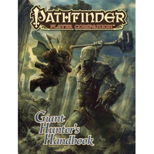 Pathfinder - Player Companion - Giant Hunters Handbook available at 401 Games Canada