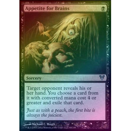Appetite for Brains (Foil) (AVR) available at 401 Games Canada
