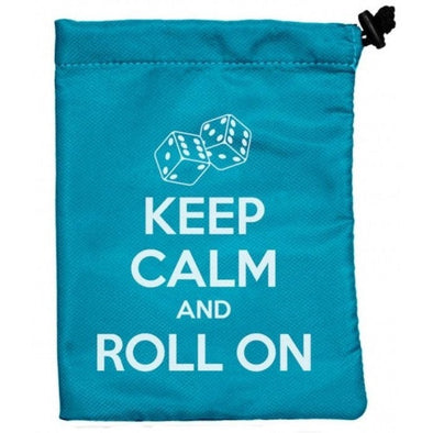 Ultra Pro - Dice Bag - Keep Calm and Roll On available at 401 Games Canada