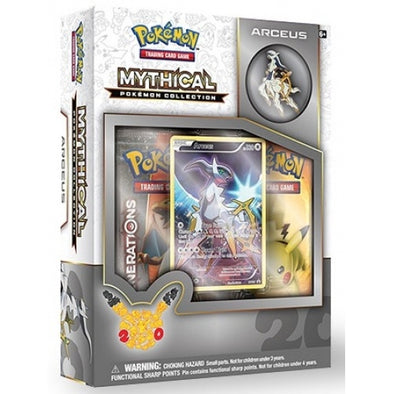 Pokemon - Mythical Collection Arceus (Generations) - 401 Games