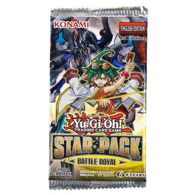 Yugioh - Star Pack Battle Royal Booster Pack - 401 Games