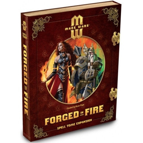 Mage Wars - Forged In Fire Spell Tome Expansion - 401 Games