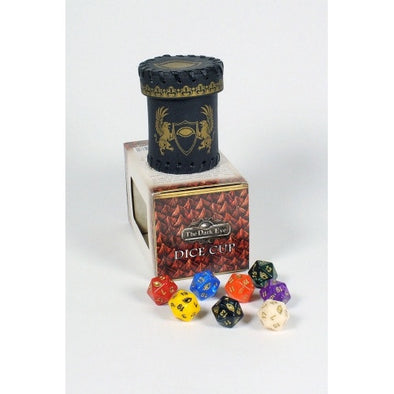 The Dark Eye - Dice Cup with 8D20 available at 401 Games Canada