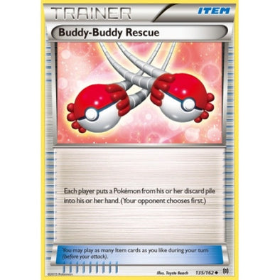 Buy Buddy-Buddy Rescue - 135/162 - Reverse Foil and more Great Pokemon Products at 401 Games