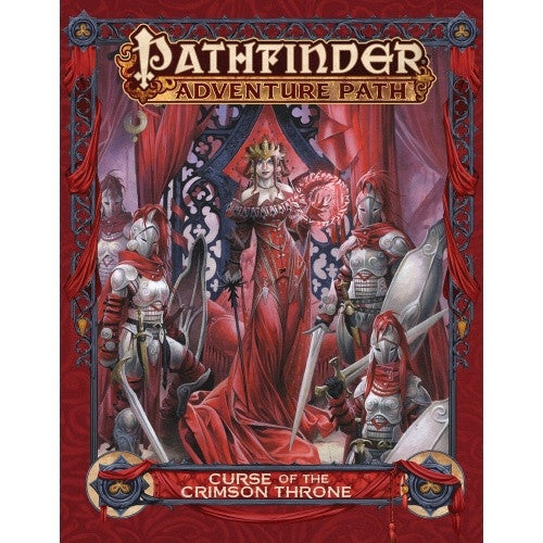 Pathfinder - Book - Curse of the Crimson Throne - 401 Games