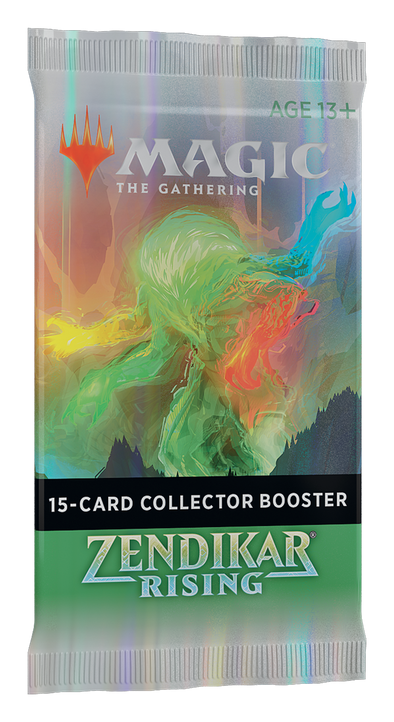 MTG - Zendikar Rising - Collector Booster Pack available at 401 Games Canada