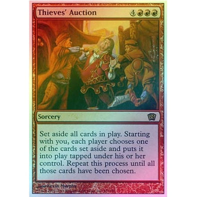 Thieves' Auction (Foil) available at 401 Games Canada
