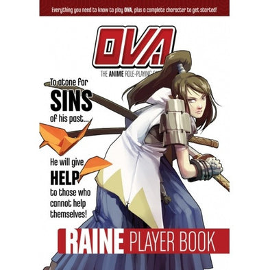 OVA: The Anime Role Playing Game - Raine Player Book available at 401 Games Canada